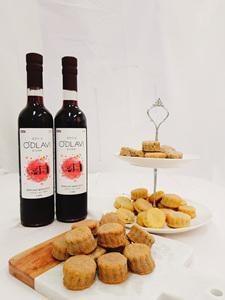 """와인특허,""""와인 부산물""""과""""쌀가루""""의 만남"""