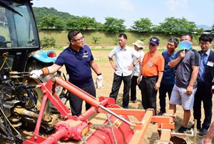 충북농기원, 미래농업 혁신기술 및 농업기계 교육 연중 실시