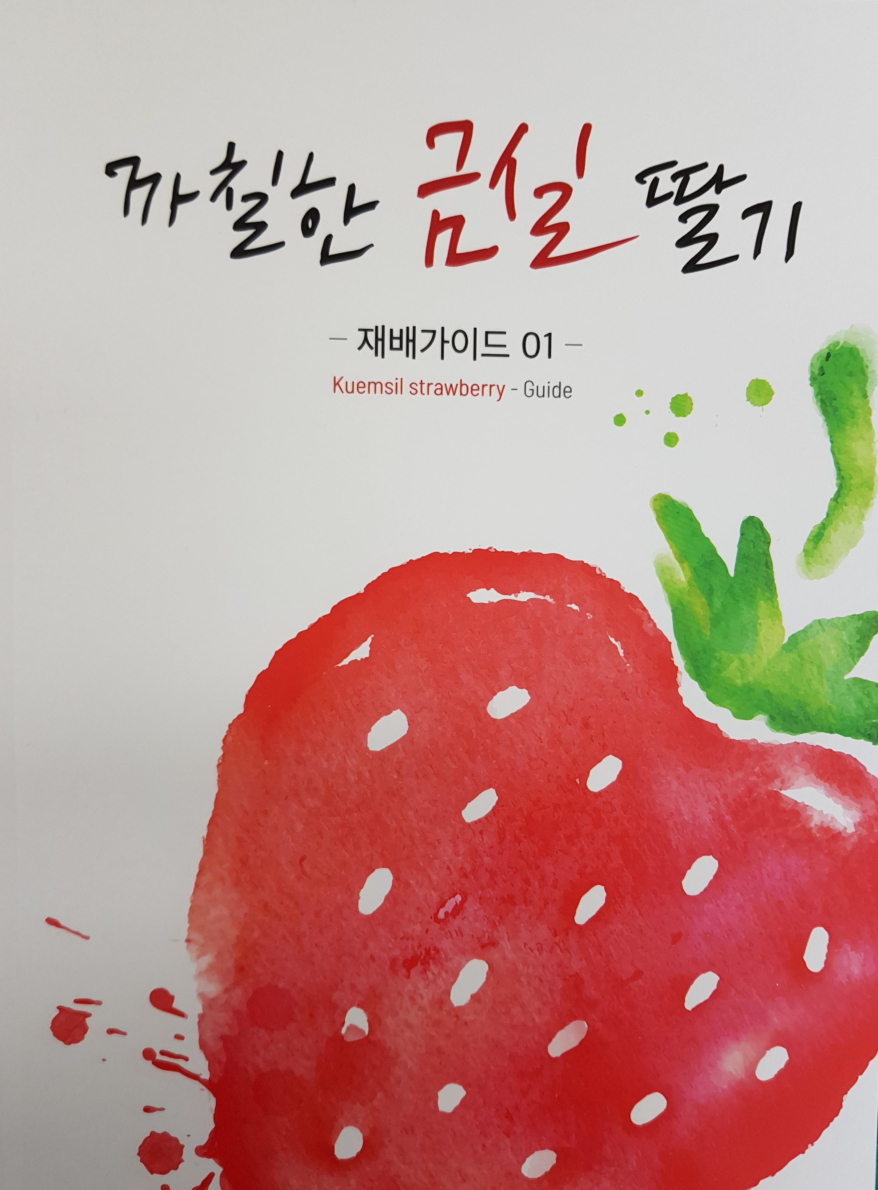 우리道 육성 '금실' 딸기 재배매뉴얼 발간